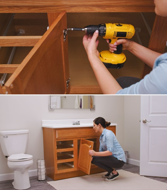 How To Paint Bathroom Vanity Cabinets Sherwin Williams