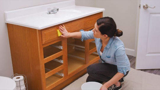 How To Paint Bathroom Vanity Cabinets, How To Paint Bathroom Cabinets