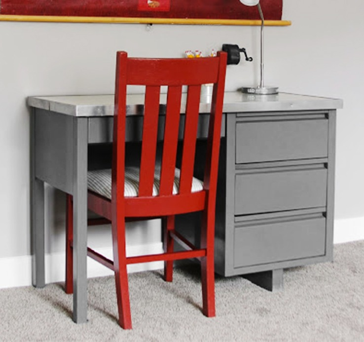 Desk And Chair Do Over