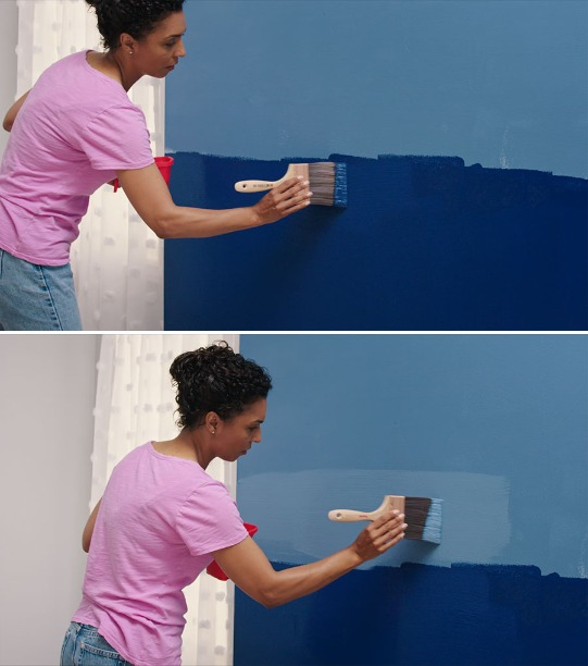 Creating A Grey Ombre Accent Wall: How To Paint A Beautiful Ombre Accent Wall
