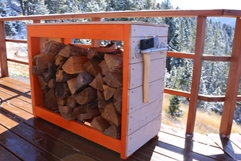 Firewood Storage Rack