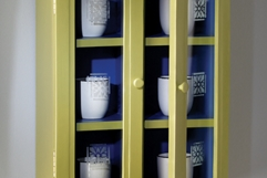 Frosted Glass Wall Cupboard