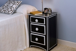 Nightstand spray paint projects