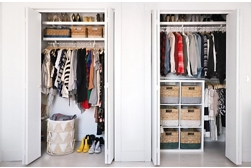 Closet Organization Bins project