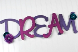 """Dream"" Wall Art Project"