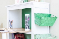 Ombre Bookshelf Desk