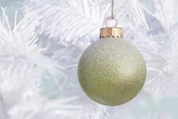 Vintage Glitter Ornament
