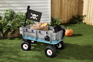 Halloween Skally-Wagon