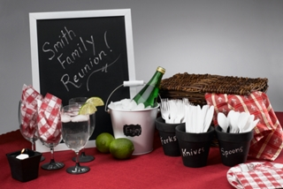 Summertime Entertaining Chalkboard Project