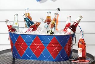 Argyle Beverage Tub