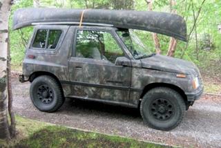 Camouflage 4WD Sidekick