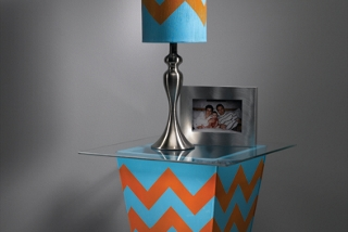 Chevron Lamp Shade