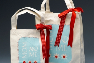 Mom & Me Canvas Bags