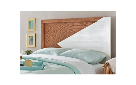 Metallic Color Block Headboard