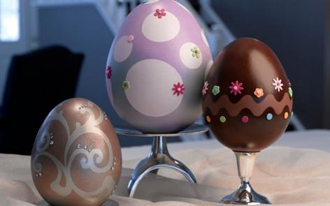 Easter Egg Decorn Votives Project