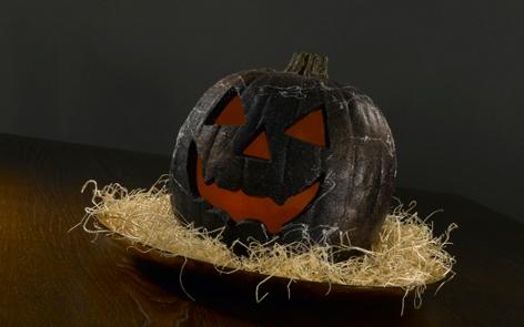 Glow-in-the-Dark Pumpkin Project