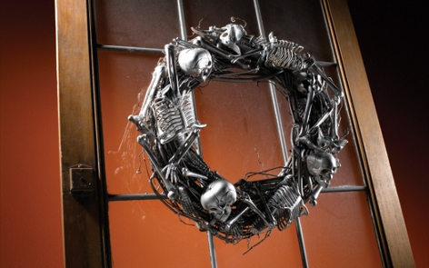 Halloween Bone Wreath Project
