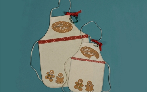 Holiday Aprons Project