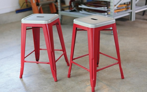 spray painting metal how to spray paint metal bar stools krylon