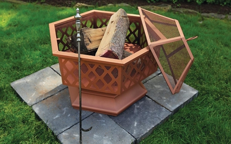 How to Spray Paint a Metal Fire Pit