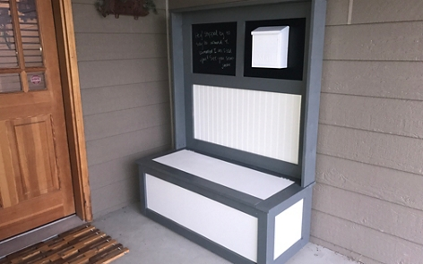 Outdoor Entryway Hutch