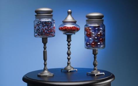 Patriotic Pedestal Jar Project