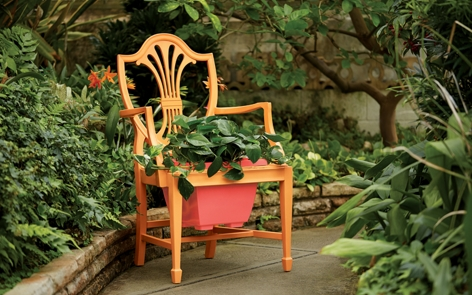 Planter Chair, Outdoor, Spray Paint Projects | Krylon
