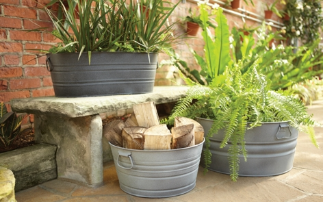 Tub Planters Project