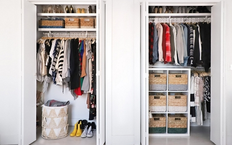 Closet Organization Bins