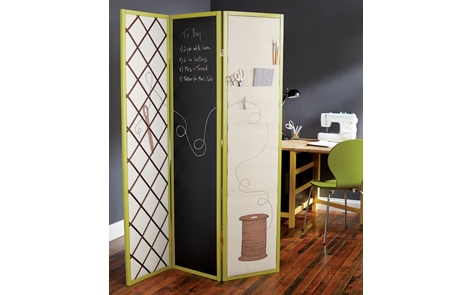 Sewing Room Divider Project