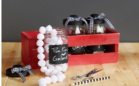 Crafty Keepers Mason Jars Project
