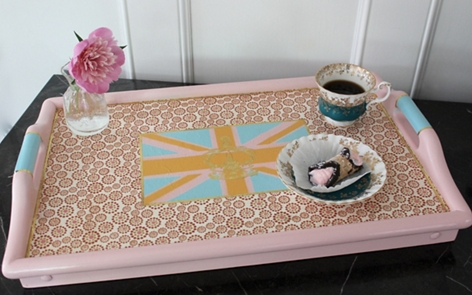Union Jack Serving Tray Project