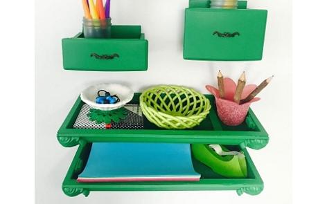 Floating Desk Shelves Project