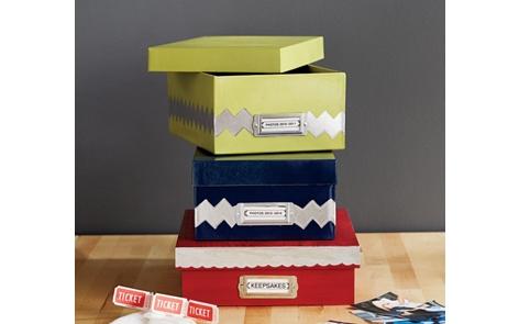 Stylish Storage Boxes Project