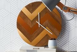 Metallic Clock project