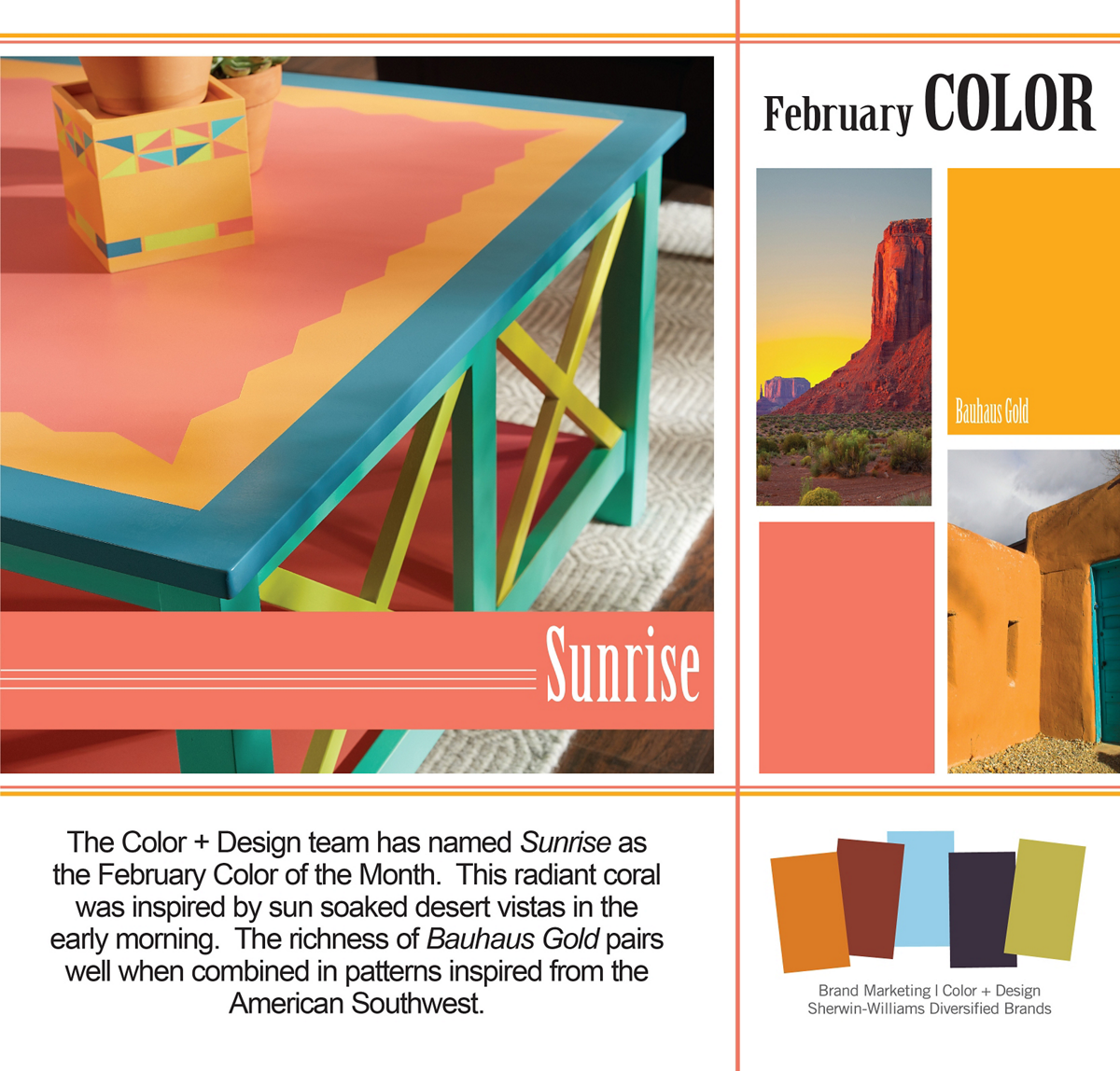 Krylon® Colour of the Month features