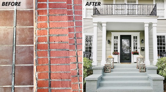 How To Paint Exterior Brick Sherwin Williams