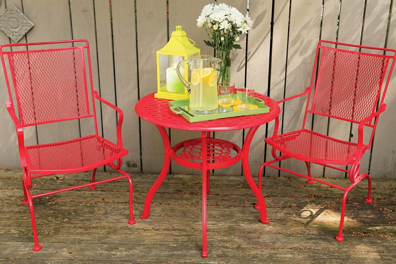Spray Paint Metal Furniture
