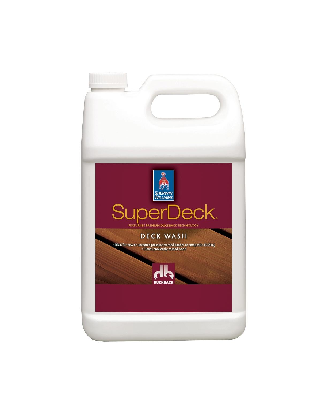 Superdeck Deck Wash Sherwin Williams