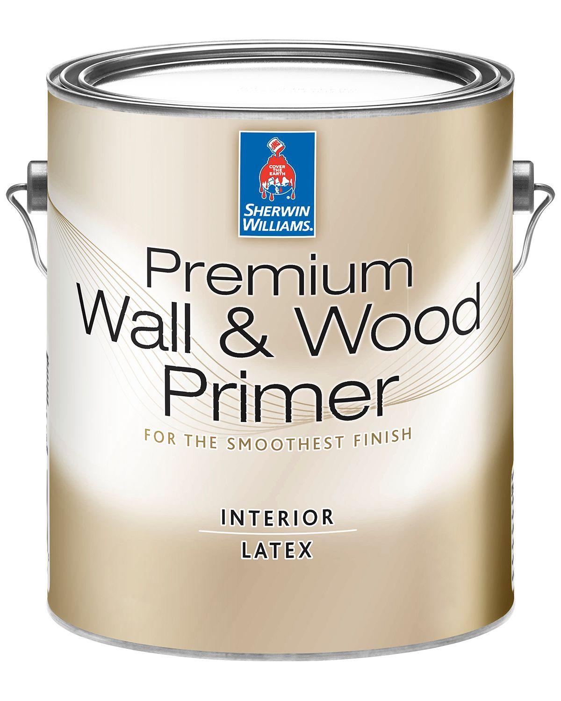 Premium Wall Wood Primer Sherwin