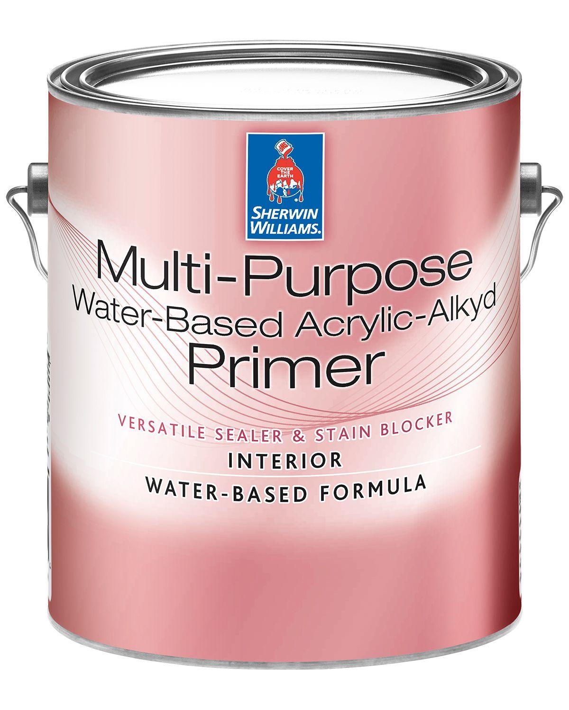 Multi-Purpose Water-Based Acrylic-Alkyd Primer - Sherwin