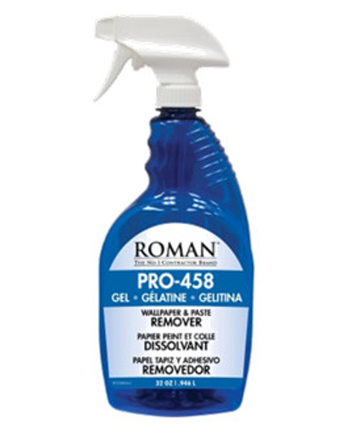 Roman Pro 458 Wallpaper And Paste Remover Gel Spray Sherwinwilliams