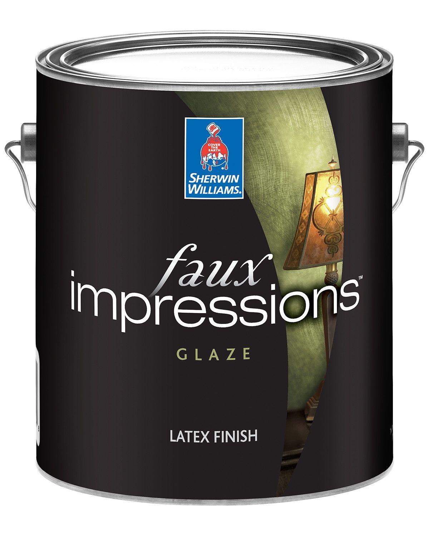 Faux Impressions Latex Glaze Sherwin Williams