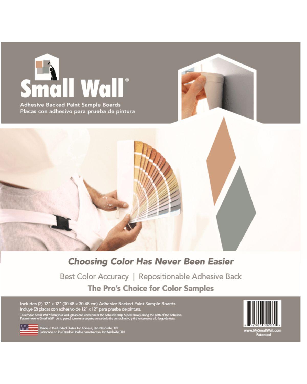 Small Wall Two Pack Sample Board Sherwinwilliams