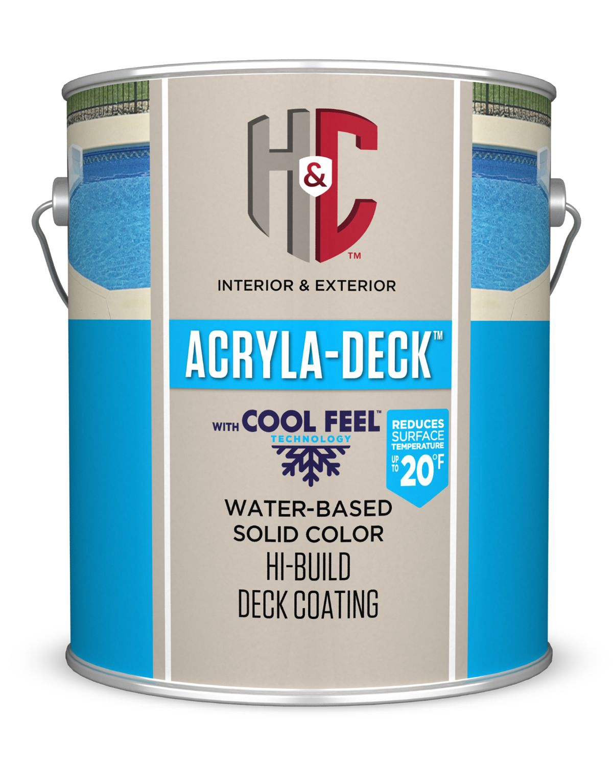 H C Acryla Deck Solid Color Hi Build Coating Sherwin Williams