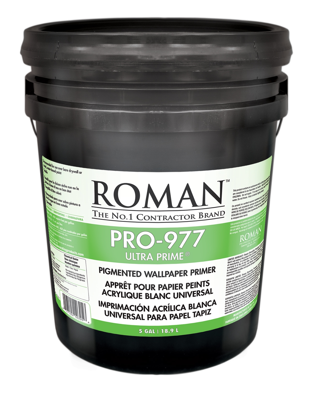 Roman PRO-977 Ultra Prime Pigmented Wallcovering Primer | SherwinWilliams