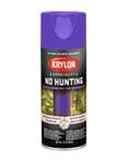 No Hunting Purple