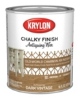 Chalky Finish Dark Antiquing Wax