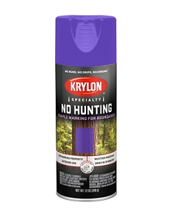 No Hunting Purple