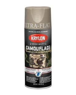 Camouflage Paint made with Fusion for Plastic® Technology